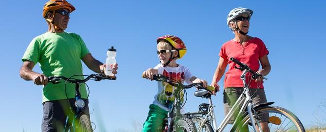 Le vélo, c'est bon pour la santé