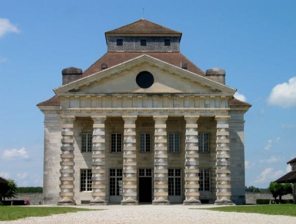 Arc et Senans, la maison du directeur