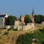 Vue panoramique de Sainte-Suzanne