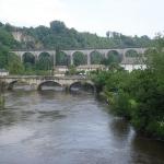 pont sur la vienne