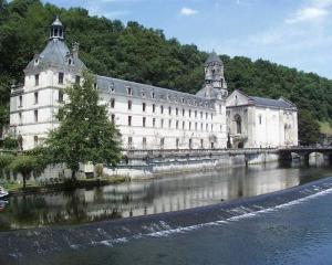L'abbaye de Brantôme.