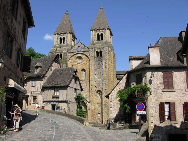 Conques, BPF de l'Aveyron, Province de Guyenne