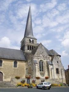 Le clocher tors du Vieil-Baugé