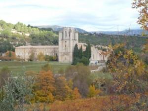 L'abbaye de Lagrasse, BPF de l'Aude.