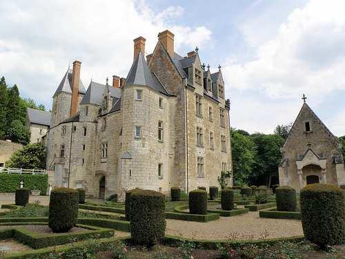 Le château de Courtanvaux, à Poncé-sur-le-Loir