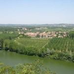 Le panorama sur la vallée de la Garonne