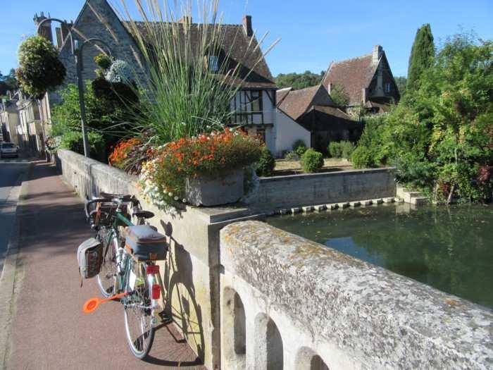 Le pont fleuri de Montoire