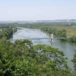Le pont sur la Garonne