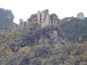 Les ruines du château de Durfort.