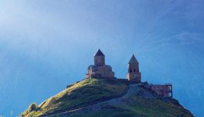 """<p>La Géorgie est un pays situé aux confins de l'Europe et de l'Asie dans la région du Caucase. Votre séjour débutera à Tbilissi, capitale de la Géorgie, pour aller vers le lac de Bazalett ......</p><div class=""""more""""><a href=""""https://ffct.org/randonner-a-velo/ou-quand-pratiquer/sejours-et-voyages/georgie-3/"""" target=""""_blank"""" title=""""Géorgie"""" >Lire la suite</a></div>"""