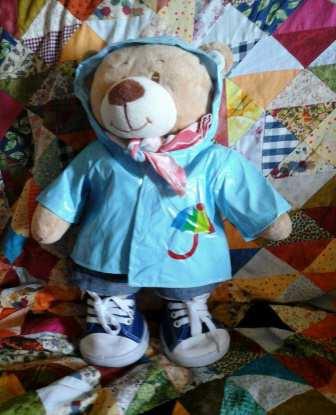 Martin, le petit ours qui voyage à vélo
