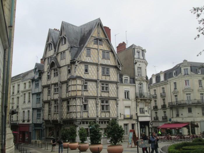Angers : le centre ville