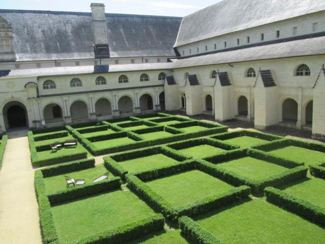 Abbaye de Fontevraud : le cloitre