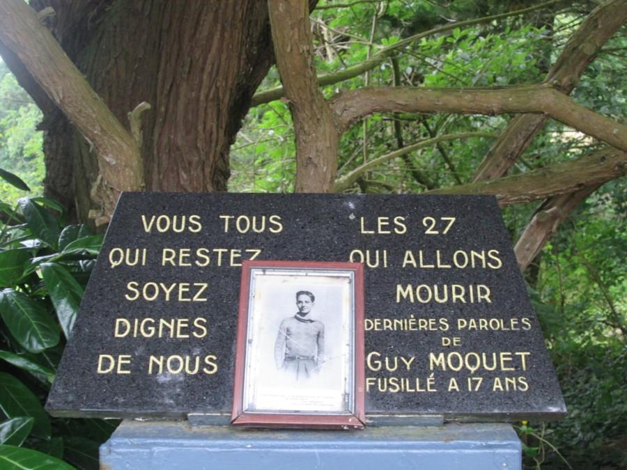 En souvenir des 27 otages fusillés