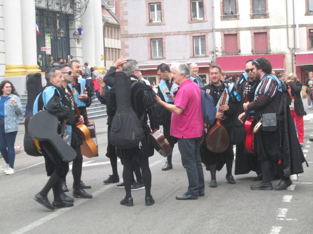 Le festival de musique.