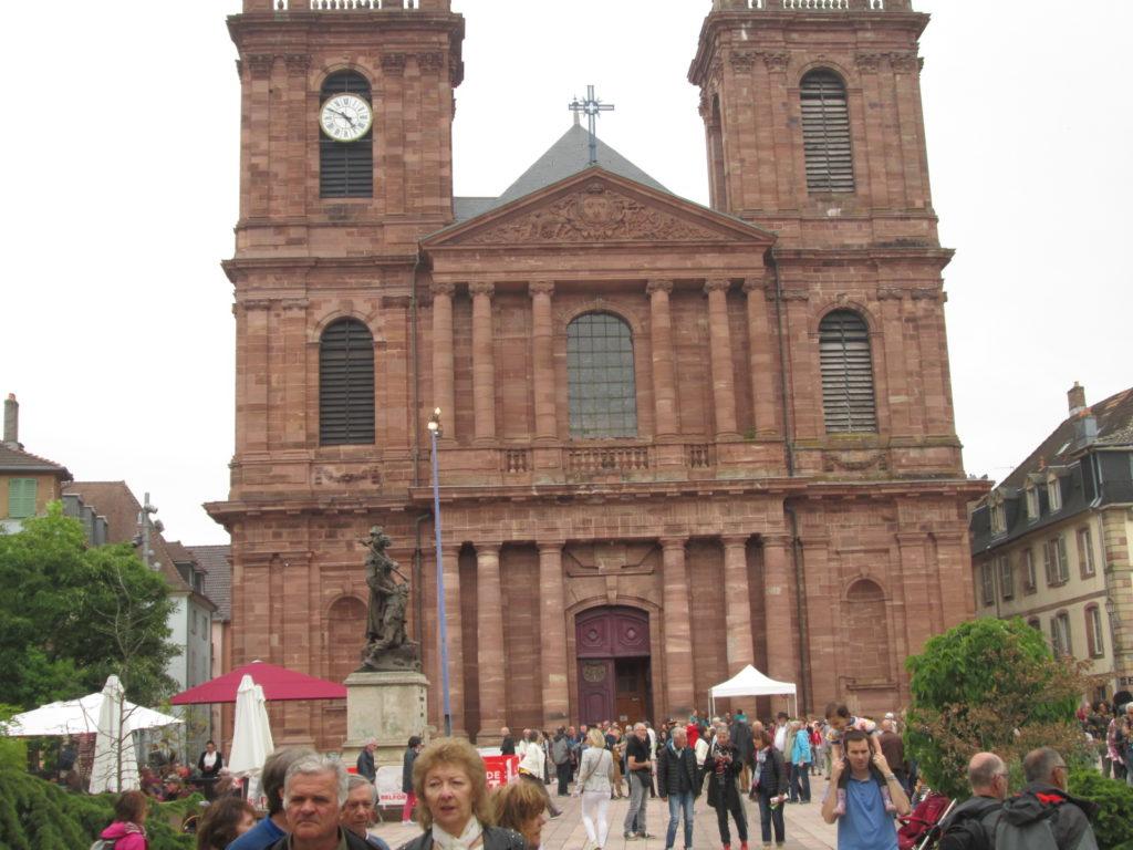 La cathédrale St-Christophe.