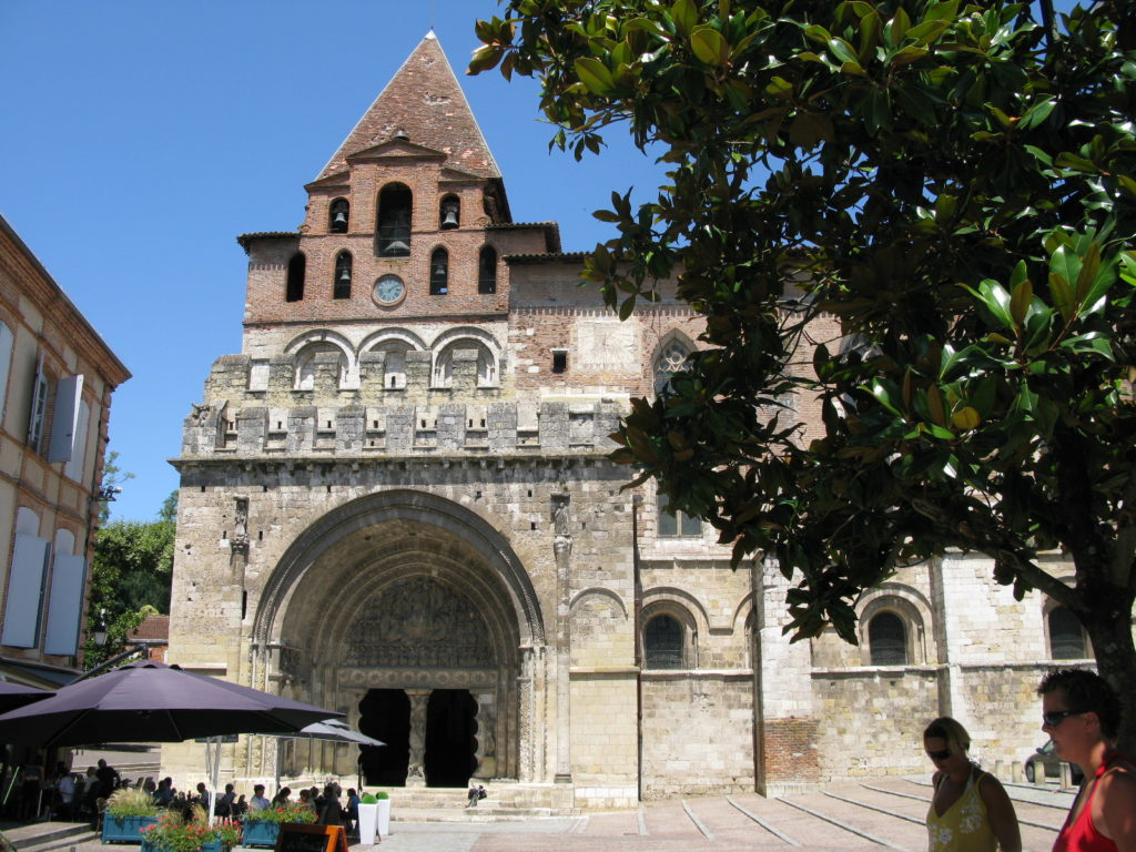 Moissac, l'église St-Pierre © J-L. Rougier.