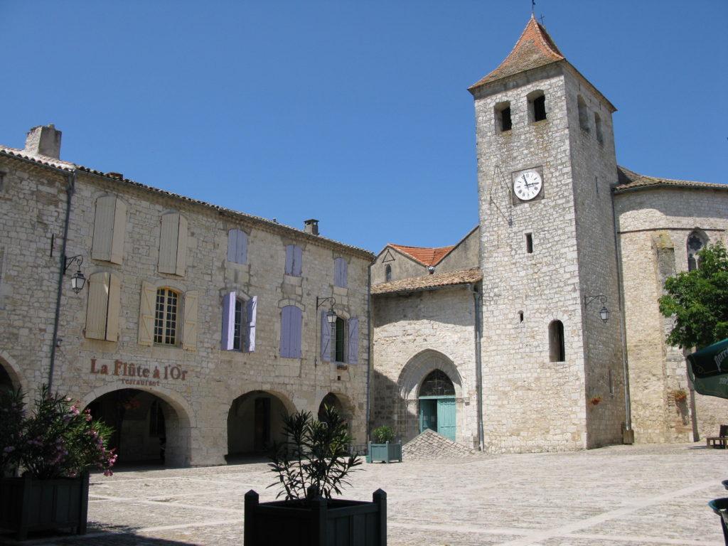 Lauzerte : église St-Barthélémy