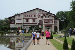 La Villa Arnaga, à Cambo-les-Bains.