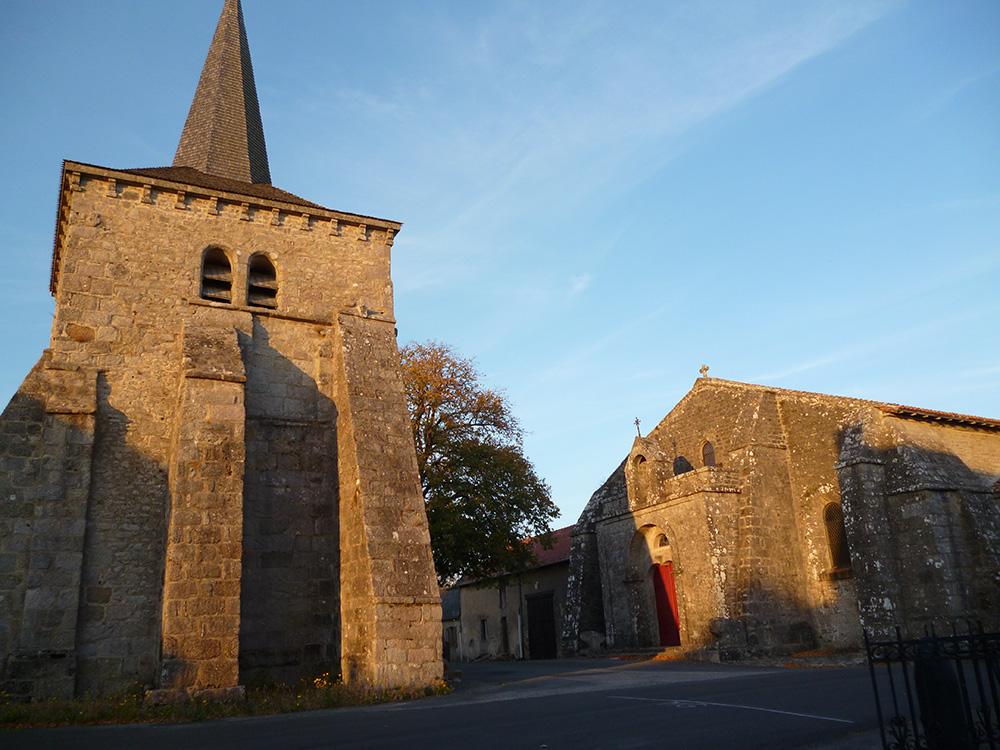 L'église de Toulx-Ste-Croix.