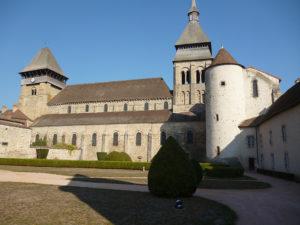 L'église abbatialle de Chambon-sur-Voueize.
