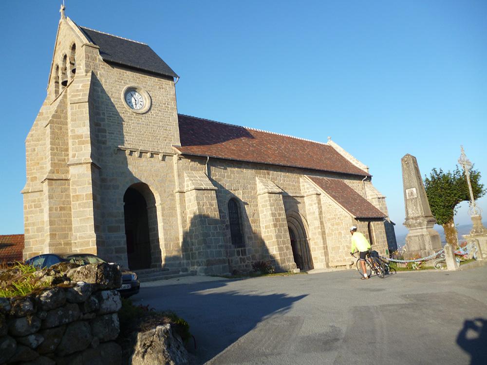 St-Georges-Nigremont : l'église