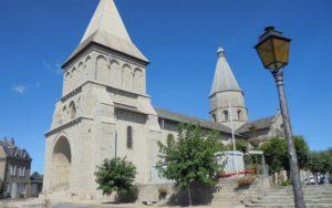 L'église de Bénévent-l'Abbaye, BPF 23, Province de la Marche © R. Baldellon.