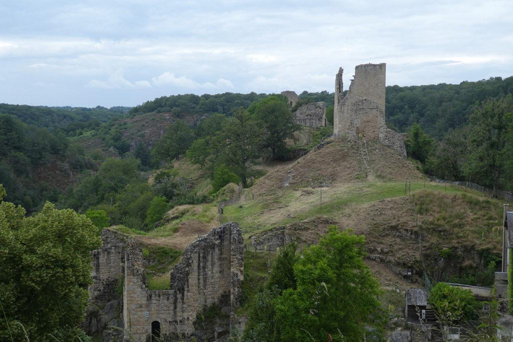 Les ruines du château de Crozant © J-L. Rougier